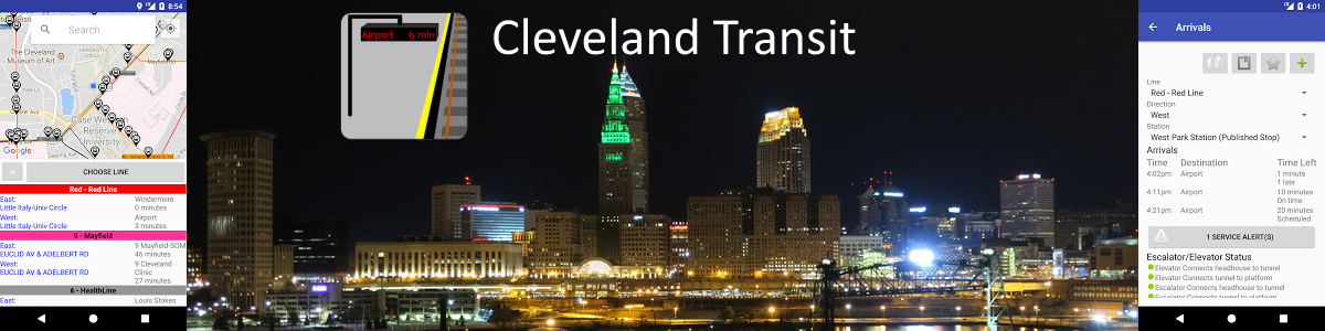 Easily navigate Cleveland's public transportation.